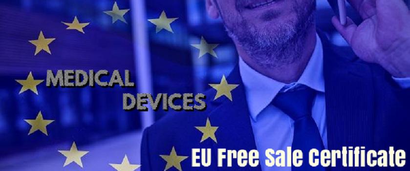 European Free Sale Certificate